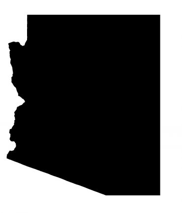 Illustration of State Of Arizona created with a high attention to detail.